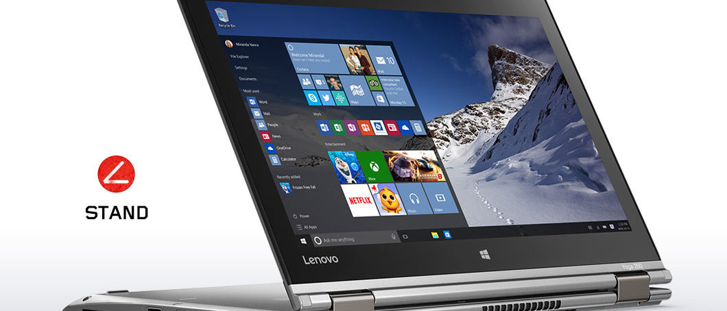 Premium Convertible: Das ThinkPad Yoga mit Stift