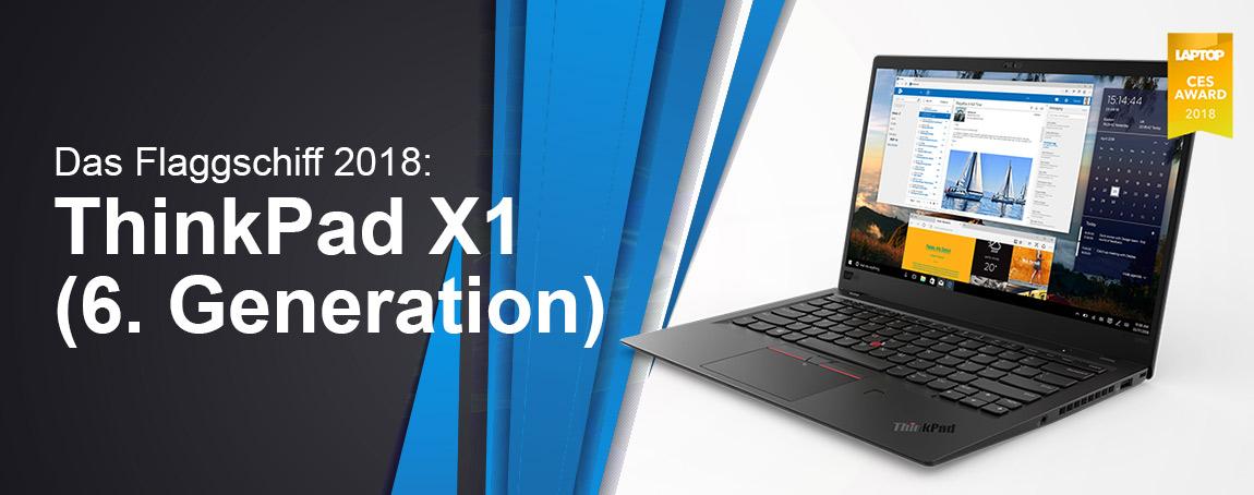 Das Flaggschiff 2018: ThinkPad X1 (6. Generation)